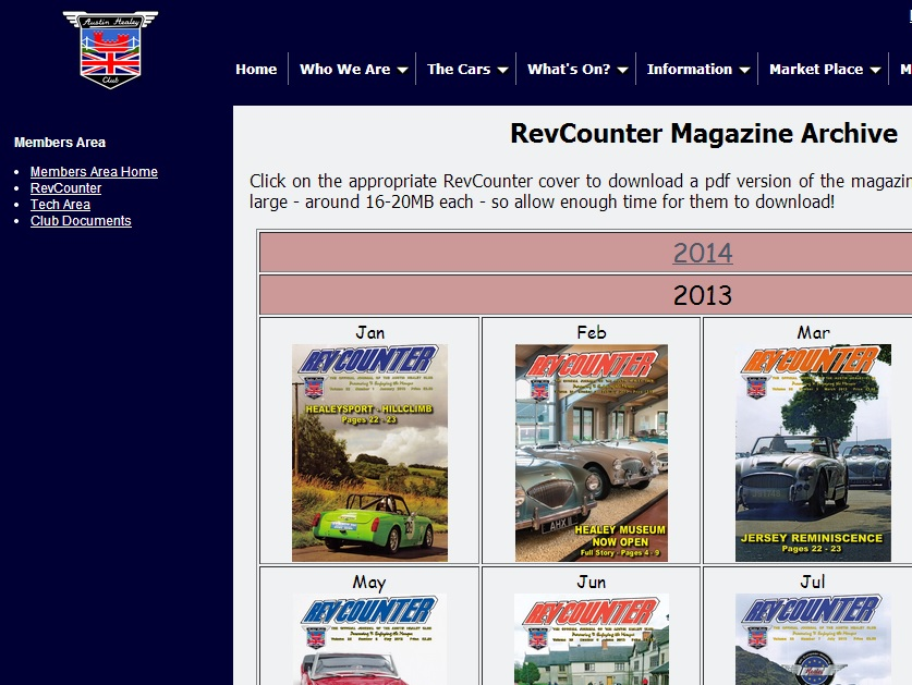 Revcounter Archive